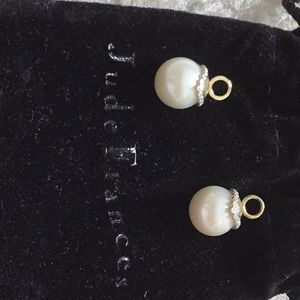 Jude Frances pearls earring charms